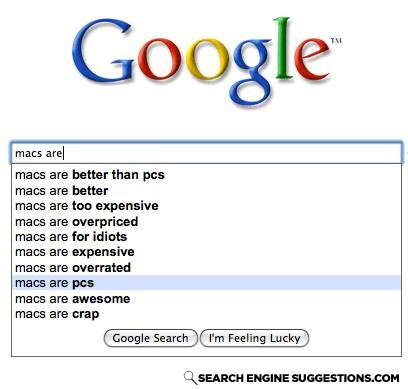 - Macs and PC's are the same, just look differently