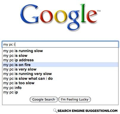 - then why the hell ru on google!? get outta the dam